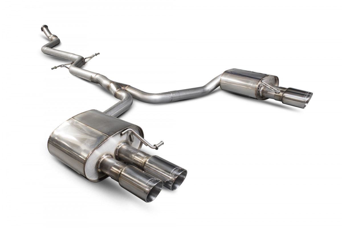 Audi A5 B8 2 0 Tfsi 12 Exhausts A5 B8 2 0 Tfsi 12 Performance Exhausts Scorpion Exhausts