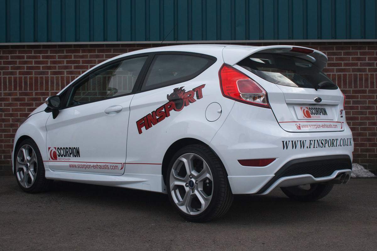 ford fiesta st 180 exhausts fiesta st 180 performance. Black Bedroom Furniture Sets. Home Design Ideas