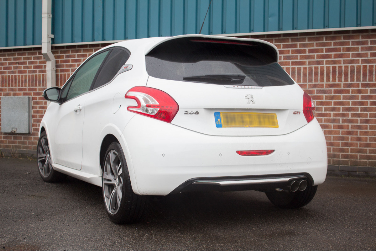 peugeot 208 gti 1 6t exhausts 208 gti 1 6t performance exhausts scorpion exhausts. Black Bedroom Furniture Sets. Home Design Ideas