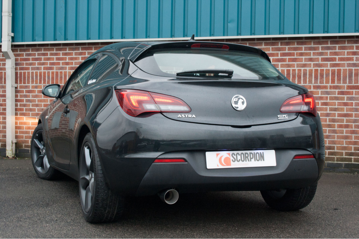 vauxhall astra gtc 1 6 turbo exhausts astra gtc 1 6. Black Bedroom Furniture Sets. Home Design Ideas