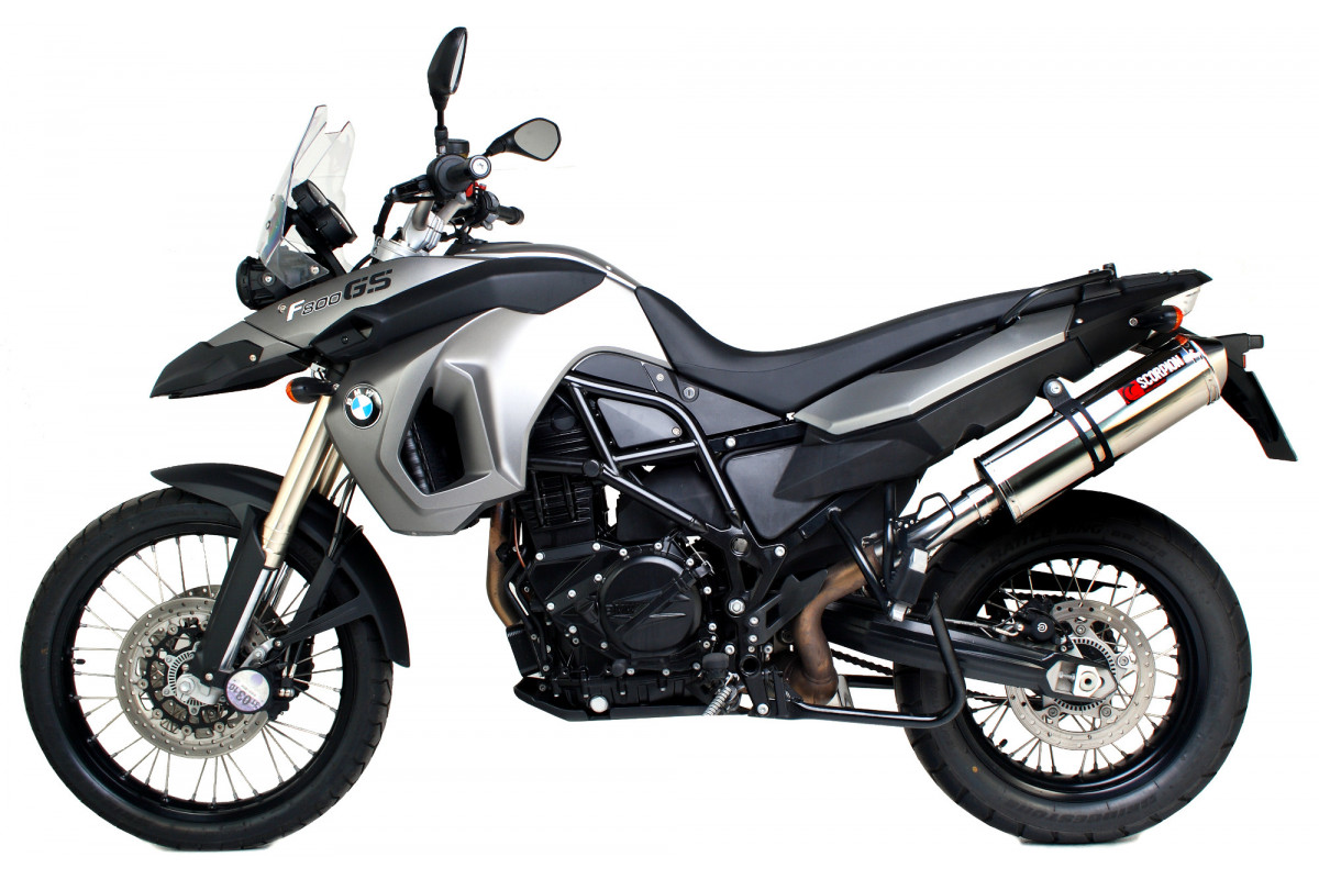 bmw f800 gs exhausts f800 gs performance exhausts scorpion exhausts. Black Bedroom Furniture Sets. Home Design Ideas