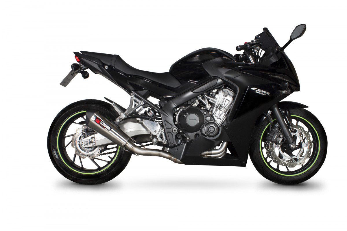 honda cbr 650 f exhausts cbr 650 f performance exhausts scorpion exhausts. Black Bedroom Furniture Sets. Home Design Ideas