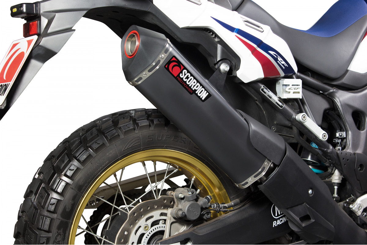 Honda Crf 1000 L Africa Twin Exhausts Crf 1000 L Africa