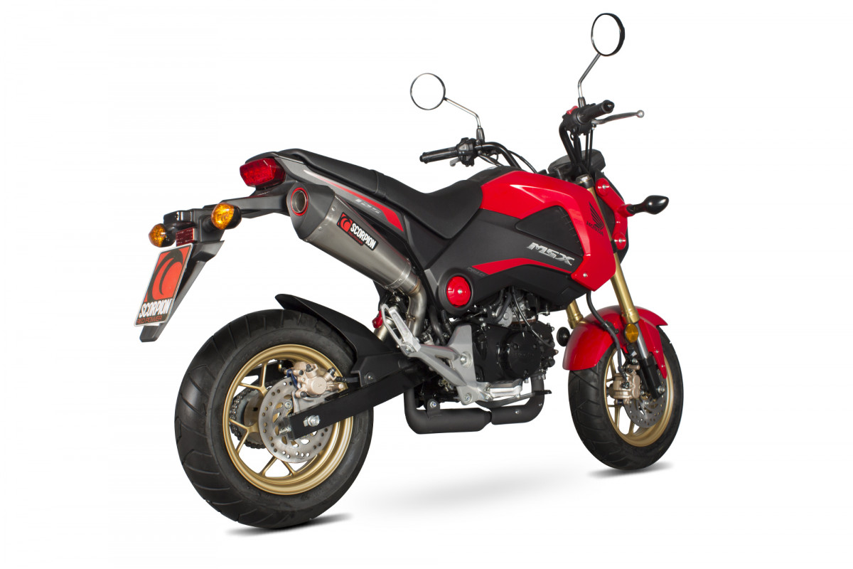 honda msx 125 exhausts msx 125 performance exhausts. Black Bedroom Furniture Sets. Home Design Ideas