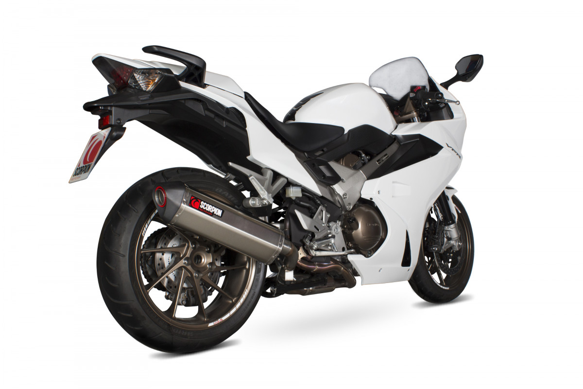 honda vfr 800f exhausts vfr 800f performance exhausts scorpion exhausts. Black Bedroom Furniture Sets. Home Design Ideas