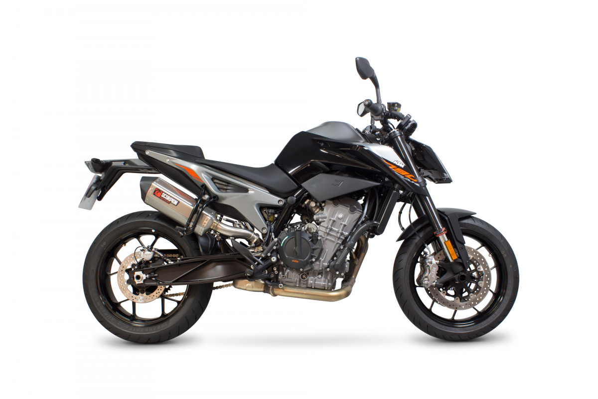 ktm duke 790 exhausts duke 790 performance exhausts. Black Bedroom Furniture Sets. Home Design Ideas