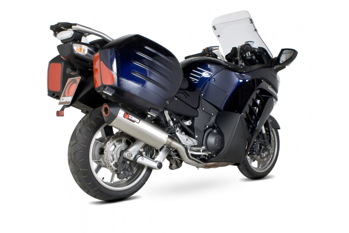 kawasaki gtr 1400 exhausts gtr 1400 performance exhausts scorpion exhausts. Black Bedroom Furniture Sets. Home Design Ideas