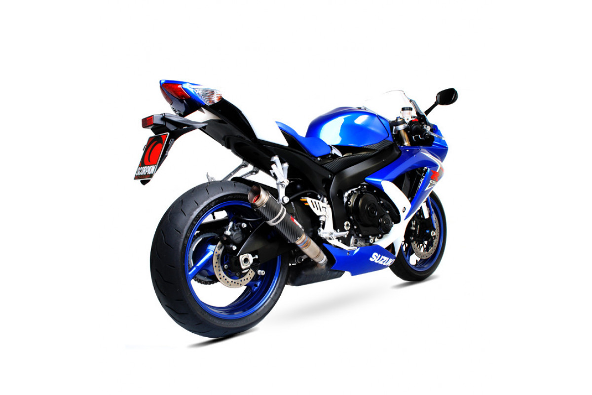 suzuki gsxr 600 k8 10 exhausts gsxr 600 k8 10 performance exhausts scorpion exhausts. Black Bedroom Furniture Sets. Home Design Ideas
