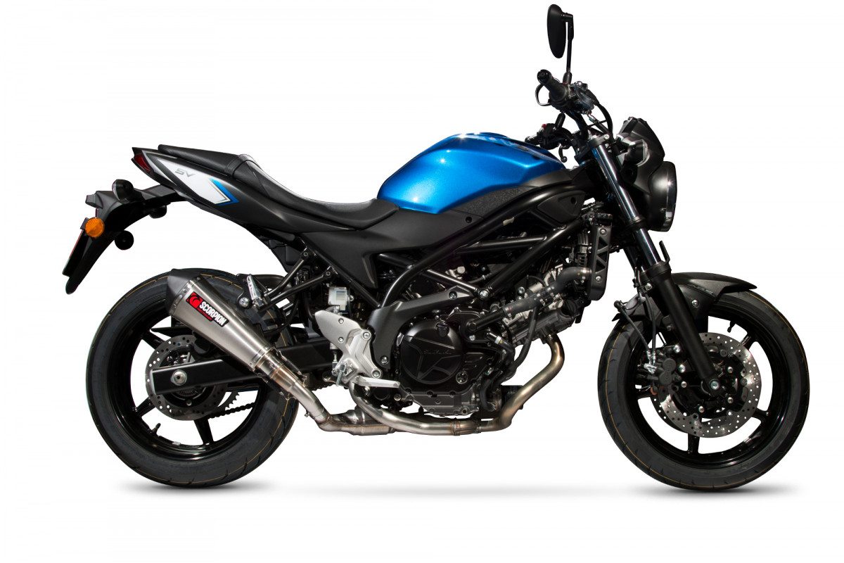 suzuki sv 650 16 current exhausts suzuki sv 650 16. Black Bedroom Furniture Sets. Home Design Ideas