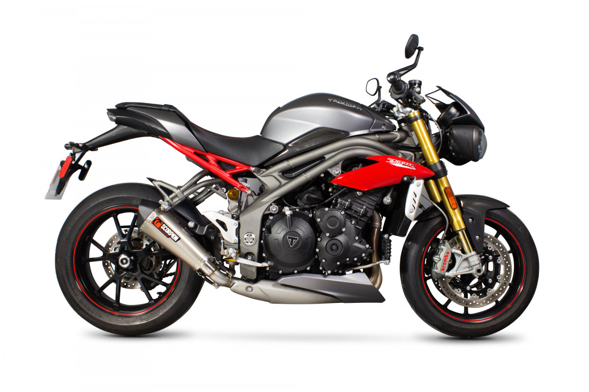 triumph speed triple 1050 16 current exhausts speed. Black Bedroom Furniture Sets. Home Design Ideas