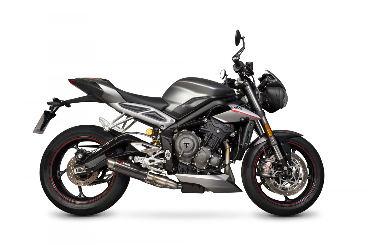 triumph street triple 765 17 current exhausts street triple 765 17 current performance. Black Bedroom Furniture Sets. Home Design Ideas
