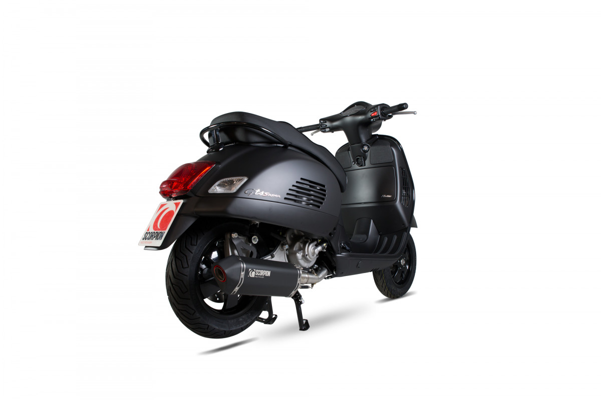 vespa gts 300 super exhausts gts 300 super performance. Black Bedroom Furniture Sets. Home Design Ideas