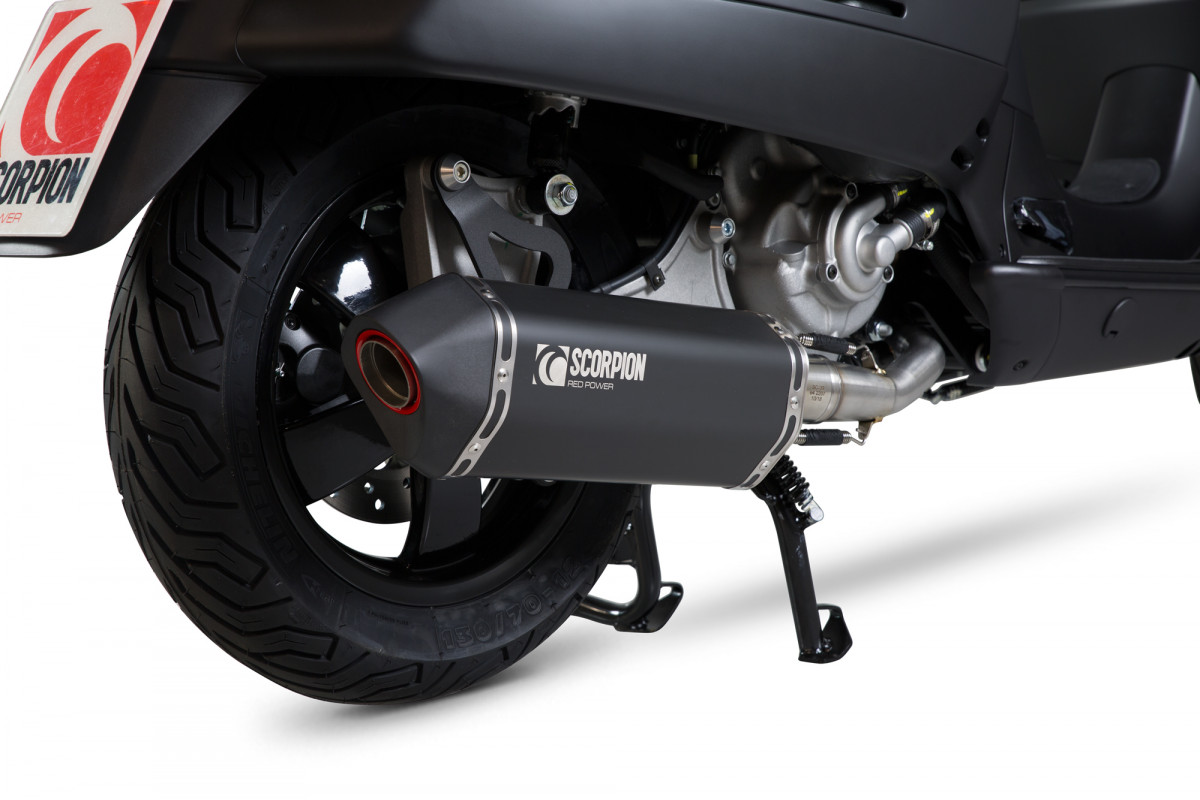 Bien-aimé Vespa GTS 125 Exhausts | GTS 125 Performance Exhausts | Scorpion  NT93