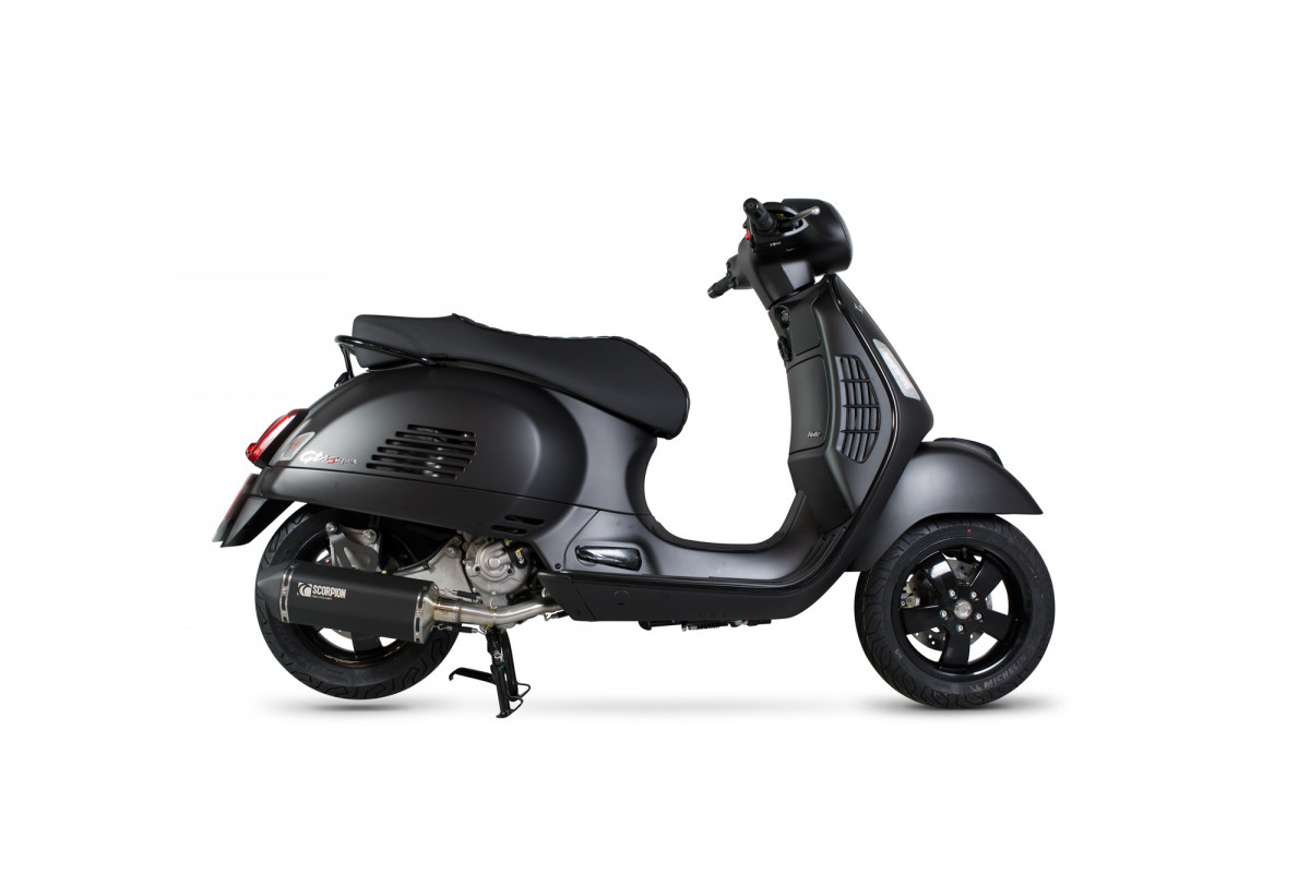vespa gts 300 super exhausts gts 300 super performance exhausts scorpion exhausts. Black Bedroom Furniture Sets. Home Design Ideas