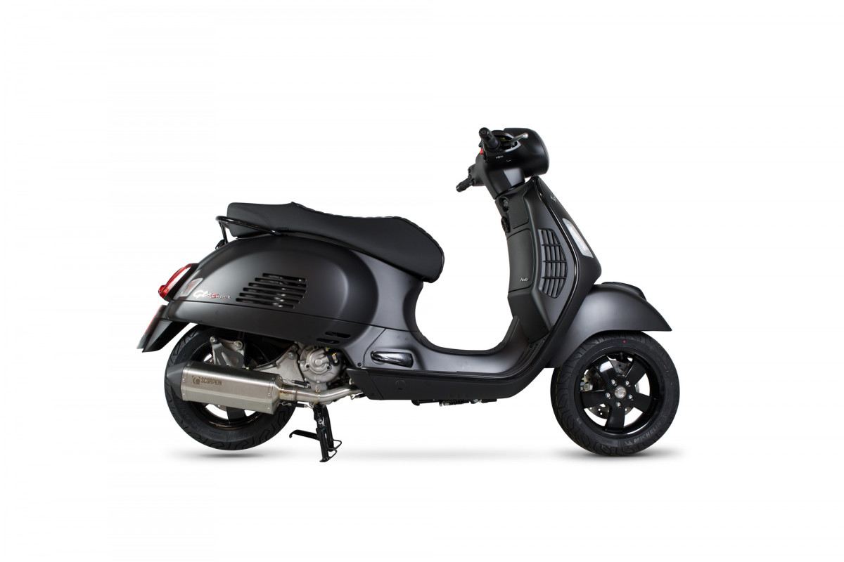 vespa gts 125 exhausts gts 125 performance exhausts. Black Bedroom Furniture Sets. Home Design Ideas