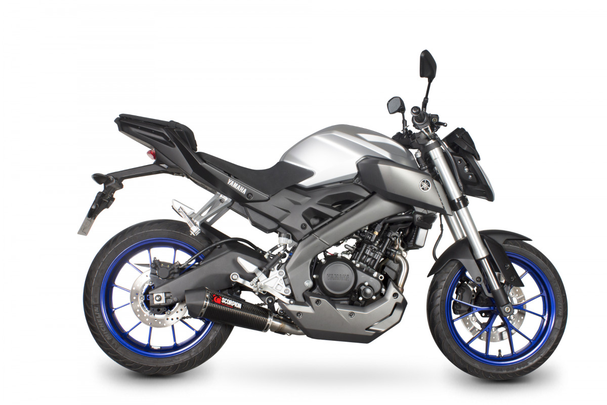 yamaha mt 125 exhausts mt 125 performance exhausts. Black Bedroom Furniture Sets. Home Design Ideas