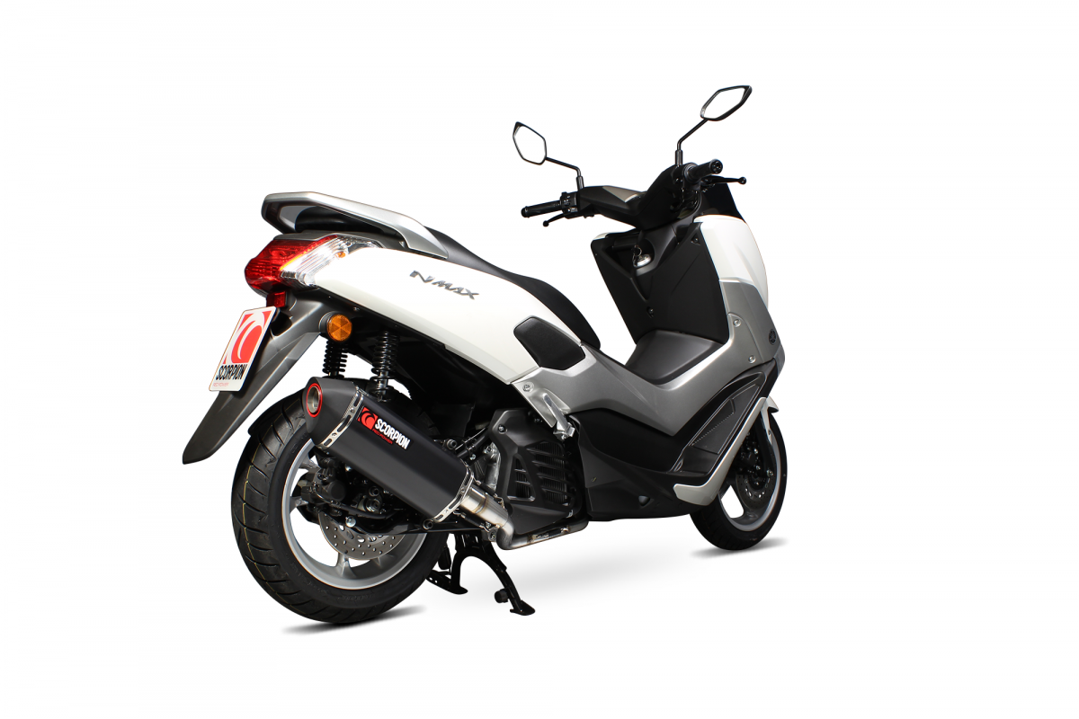 yamaha nmax 125 exhausts nmax 125 performance exhausts scorpion exhausts. Black Bedroom Furniture Sets. Home Design Ideas