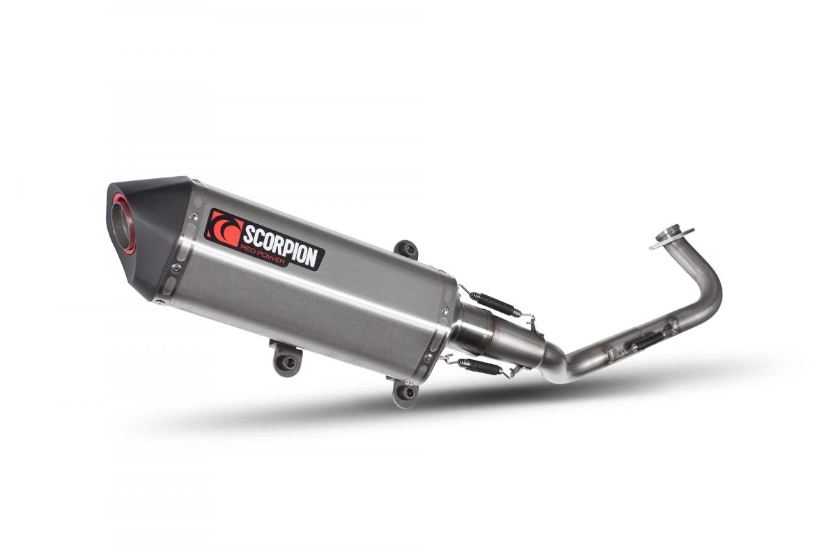 Yamaha NMAX 125 Exhausts | NMAX 125 Performance Exhausts | Scorpion
