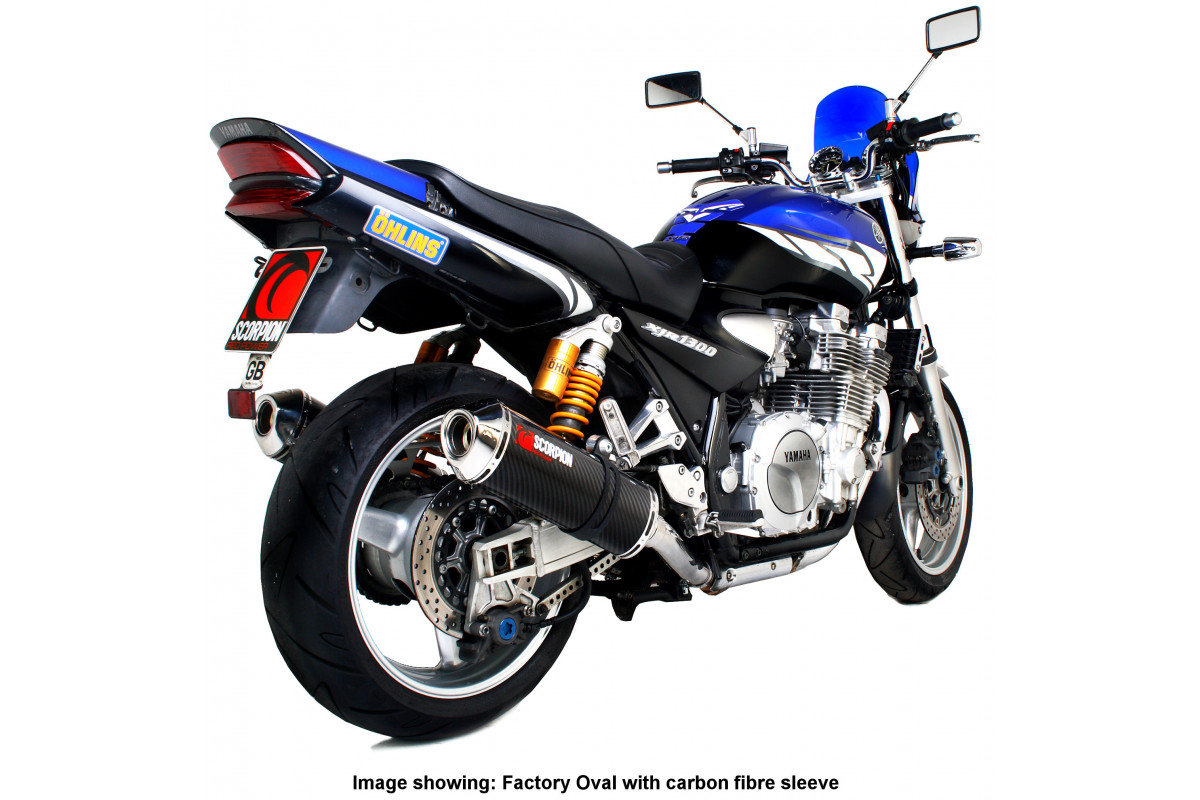 yamaha xjr 1300 04 06 exhausts xjr 1300 04 06 performance exhausts scorpion exhausts. Black Bedroom Furniture Sets. Home Design Ideas