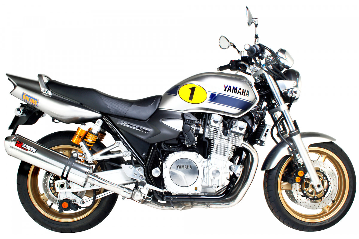 yamaha xjr 1300 07 current exhausts xjr 1300 07 current performance exhausts scorpion exhausts. Black Bedroom Furniture Sets. Home Design Ideas