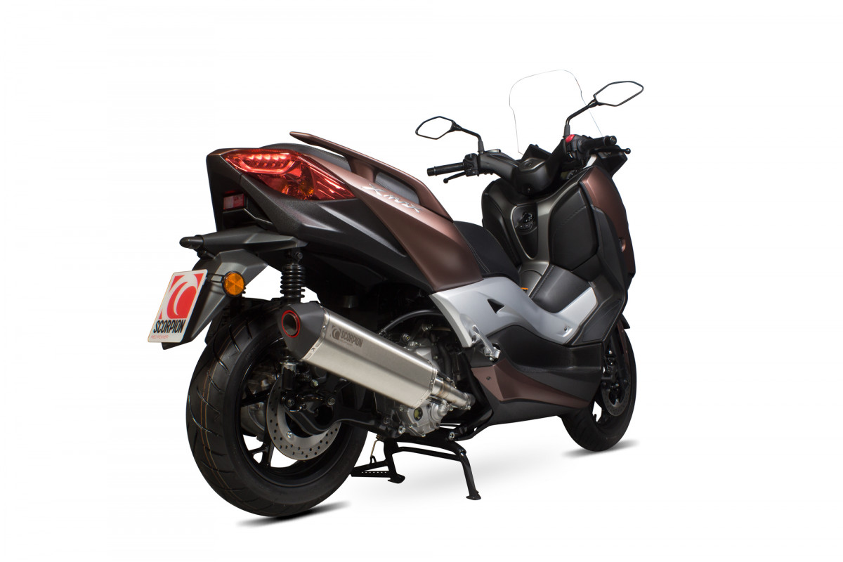 yamaha x max 300 exhausts x max 300 performance exhausts. Black Bedroom Furniture Sets. Home Design Ideas