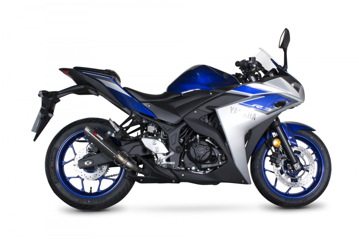 Yamaha yzf r3 r25 exhausts yzf r3 r25 performance for Yamaha yzf r3 price